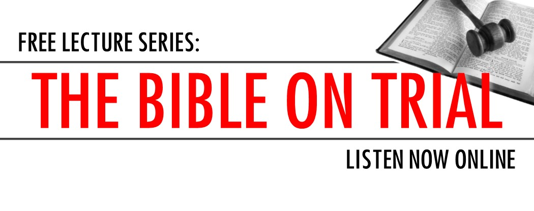 2016 Bible on Trial - listen now banner