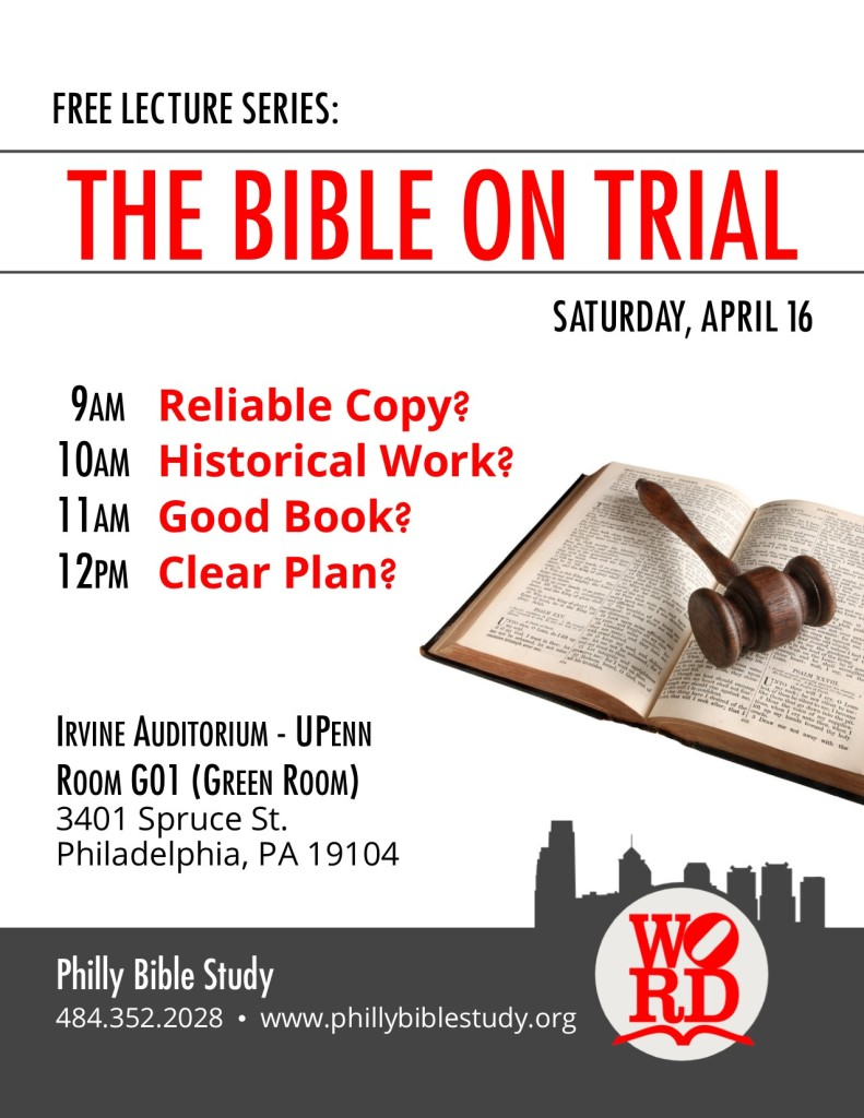2016 Bible on Trial - poster