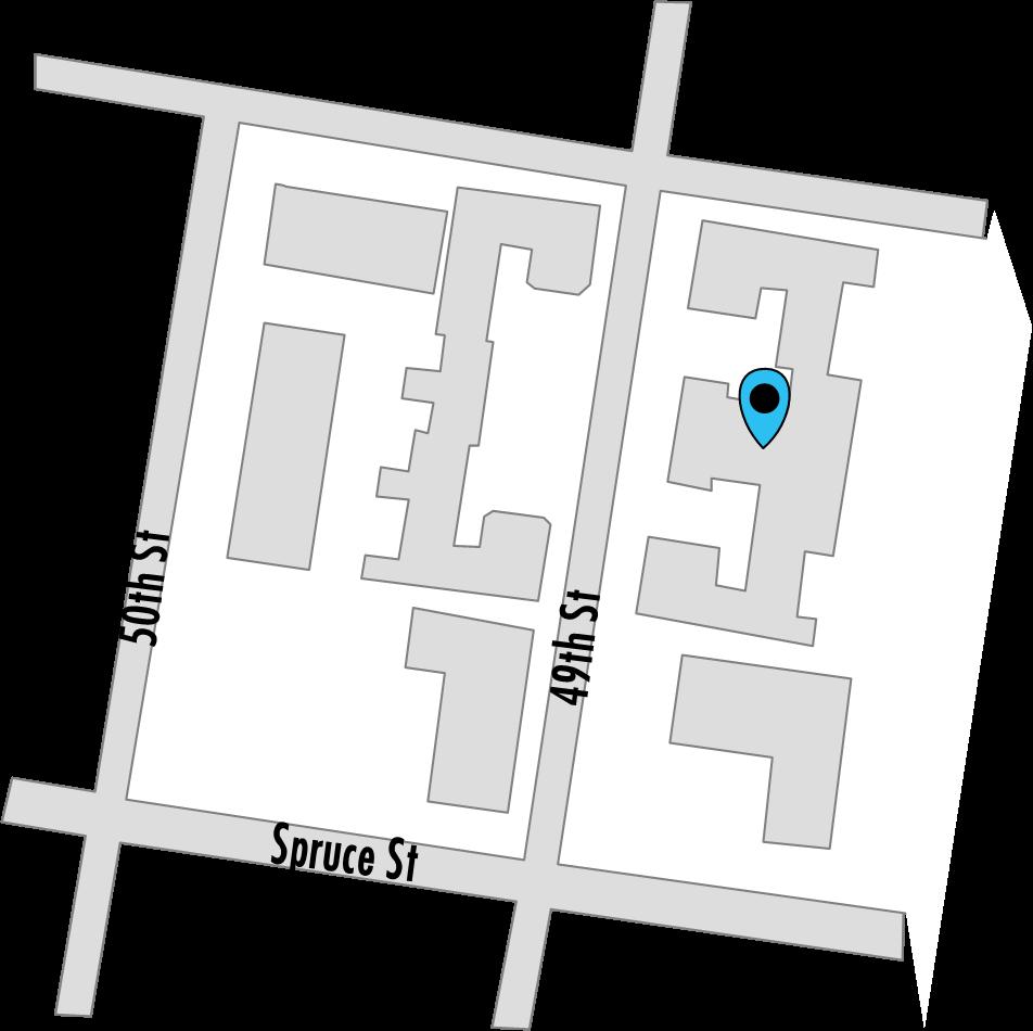 Croydon Hall Apartments map